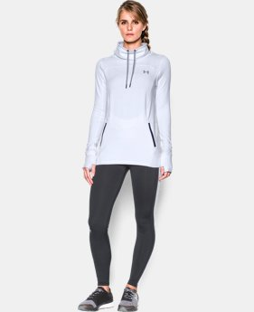 Best Seller Women's UA Featherweight Fleece Slouchy Popover  1 Color $31.49