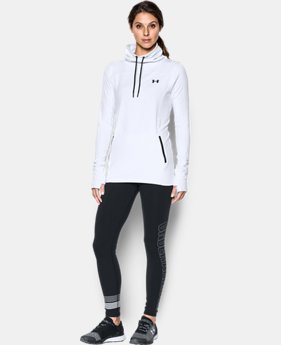 Women's UA Featherweight Fleece Slouchy Popover  1 Color $69.99
