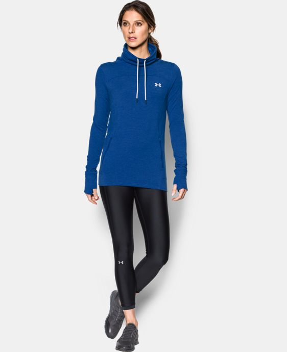 New Arrival  Women's UA Featherweight Fleece Slouchy Popover  1 Color $69.99