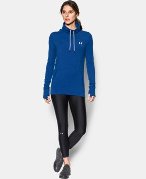 New Arrival Women's UA Featherweight Fleece Slouchy Popover  1 Color $59.99