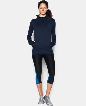 Best Seller Women's UA Featherweight Fleece Slouchy Popover  1 Color $41.99