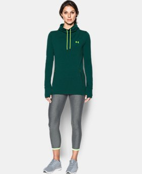 Best Seller Women's UA Featherweight Fleece Slouchy Popover  1 Color $44.99