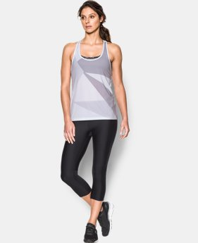 Women's UA Geo Run Tank  2 Colors $19.99 to $26.99