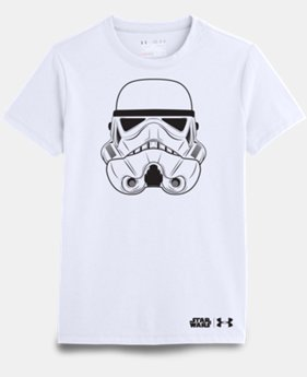 Girls' Star Wars Storm Trooper UA T-Shirt *Ship 5/27/16*
