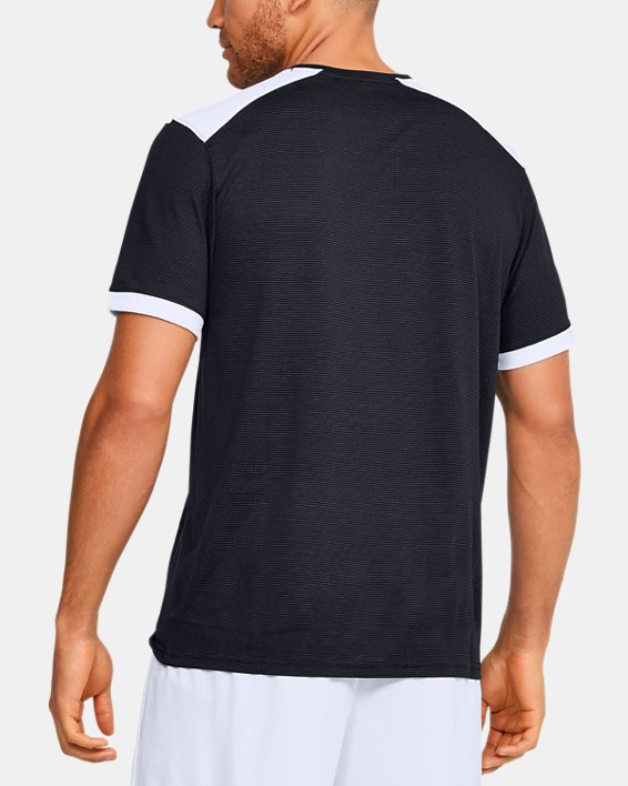 Men's UA Microthread Match Jersey, Black, pdpMainDesktop image number 5