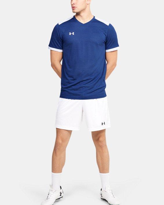 Men's UA Microthread Match Jersey, Blue, pdpMainDesktop image number 3