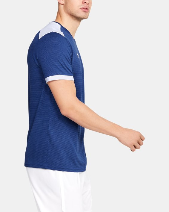 Men's UA Microthread Match Jersey, Blue, pdpMainDesktop image number 6