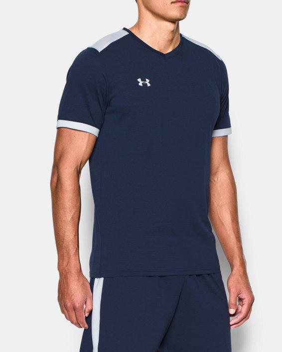Men's UA Microthread Match Jersey, Navy, pdpMainDesktop image number 1