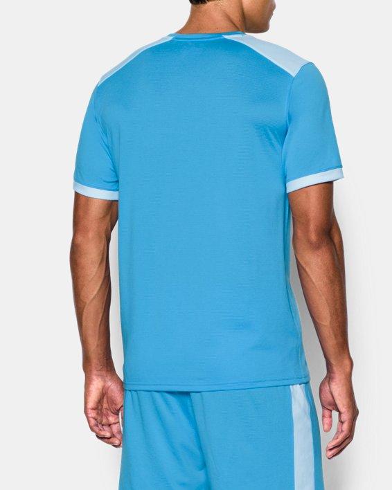 Men's UA Microthread Match Jersey, Blue, pdpMainDesktop image number 2
