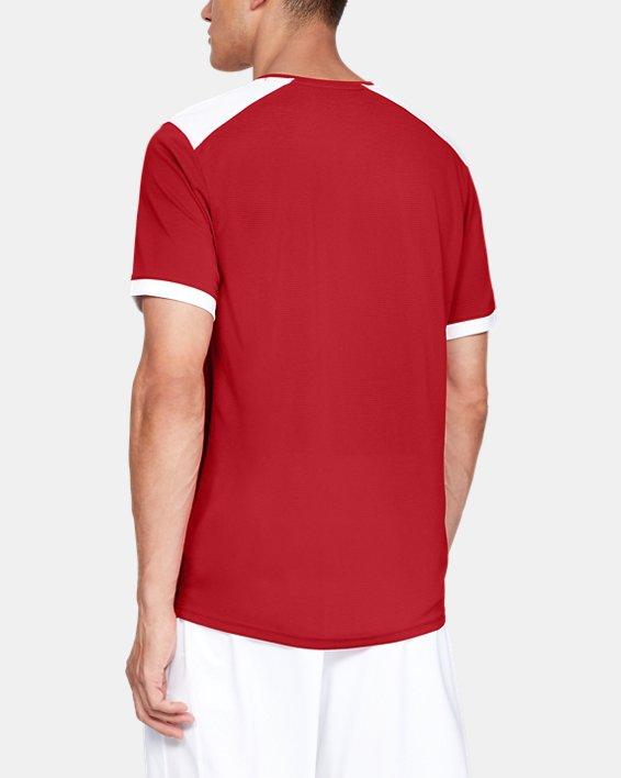 Men's UA Microthread Match Jersey, Red, pdpMainDesktop image number 2