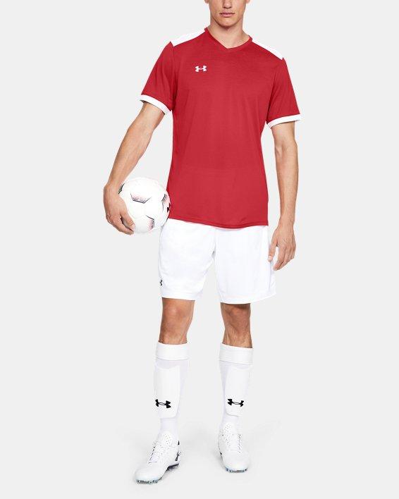 Men's UA Microthread Match Jersey, Red, pdpMainDesktop image number 0