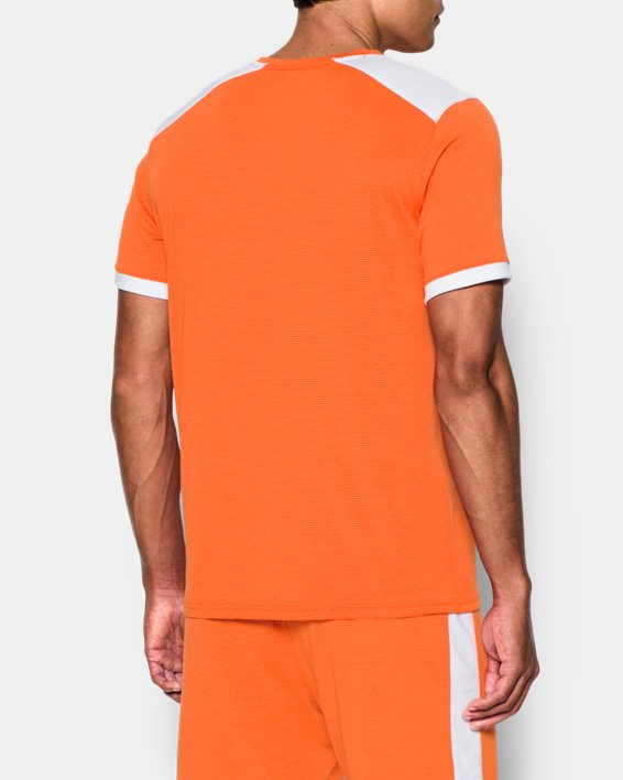 Men's UA Microthread Match Jersey, Orange, pdpMainDesktop image number 2