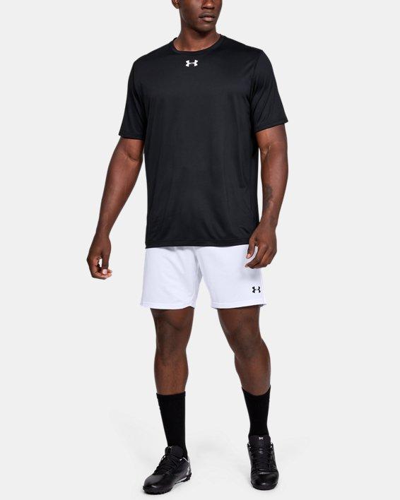 Men's UA Microthread Match Shorts, White, pdpMainDesktop image number 1