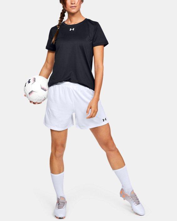Women's UA Microthread Match Shorts, White, pdpMainDesktop image number 1