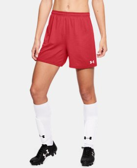 Women's UA Microthread Match Shorts  1  Color Available $28