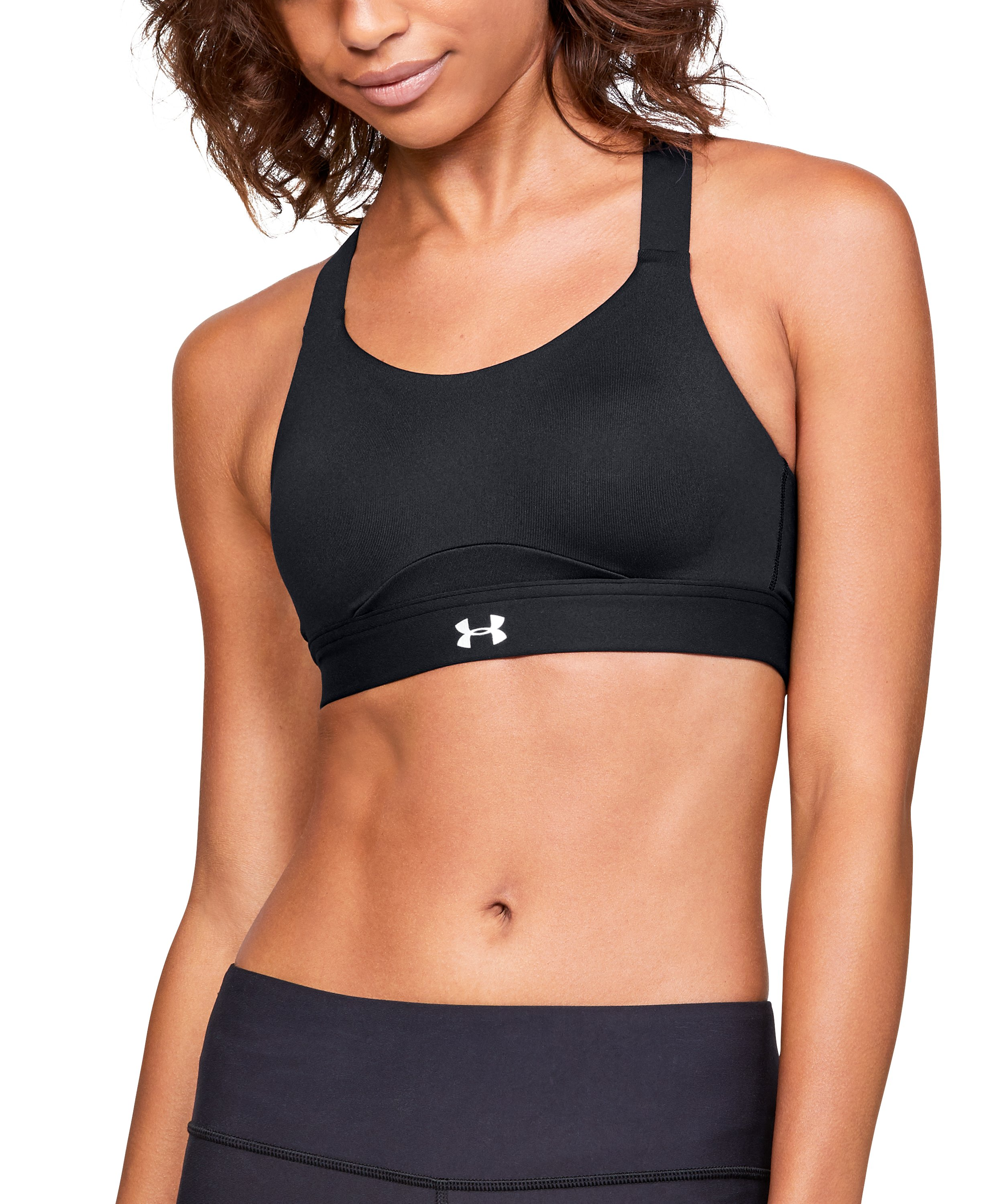 woman bras Women's Armour® Eclipse High Sports Bra I do love that it isn't a front closure bra which many companies are doing now.