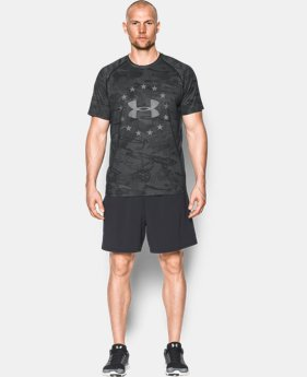 New Arrival Men's UA Freedom Reaper Tech™ T-Shirt   1 Color $39.99