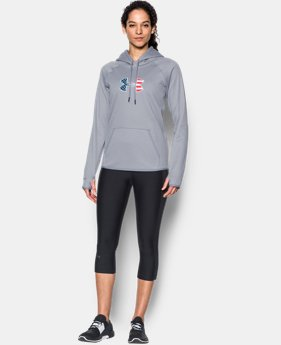 Women's UA Big Flag Logo Hoodie  3  Colors Available $38.99 to $48.99