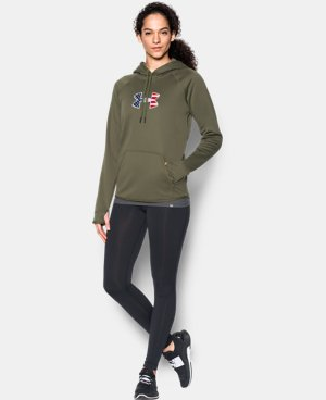 New Arrival Women's UA Big Flag Logo Icon Hoodie  1 Color $59.99
