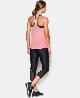 Best Seller Women's UA Fly-By Racerback Tank  2 Colors $34.99