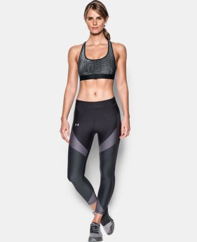 Women's Armour® Crossback Embossed Elastic Sports Bra  2 Colors $16.49