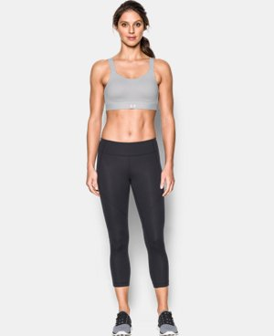 New Arrival Women's Armour® Eclipse Printed High Impact Sports Bra  1 Color $59.99