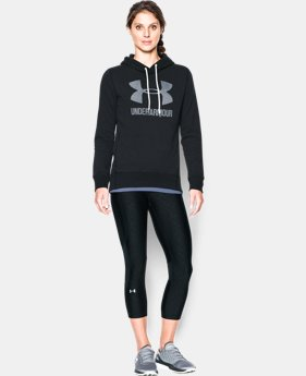 Women's UA Sportstyle Favorite Fleece Hoodie LIMITED TIME: 15% OFF 6 Colors $48.99 to $64.99