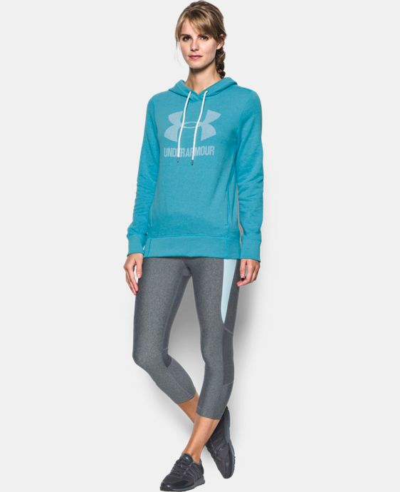 Women's UA Sportstyle Favorite Fleece Hoodie LIMITED TIME OFFER + FREE U.S. SHIPPING 2 Colors $41.24