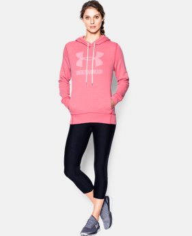 Women's UA Sportstyle Favorite Fleece Hoodie  1 Color $64.99