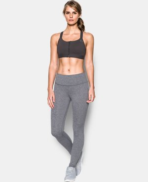 New Arrival Women's Armour® Eclipse High Impact Zip Sports Bra   $59.99