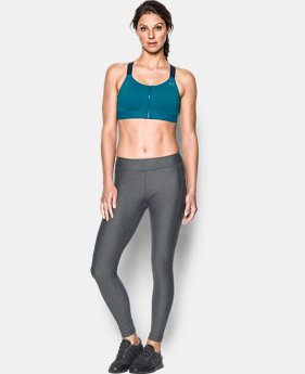Best Seller Women's Armour® Eclipse High — Zip Sports Bra  1 Color $59.99