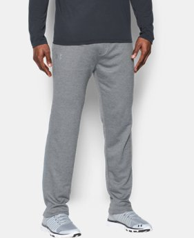 Men's UA Tech™ Terry Pants  1  Color Available $35.99