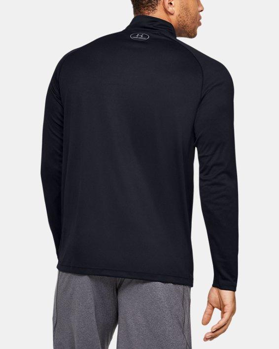 Men's UA Velocity 2.0 ¼ Zip, Black, pdpMainDesktop image number 2