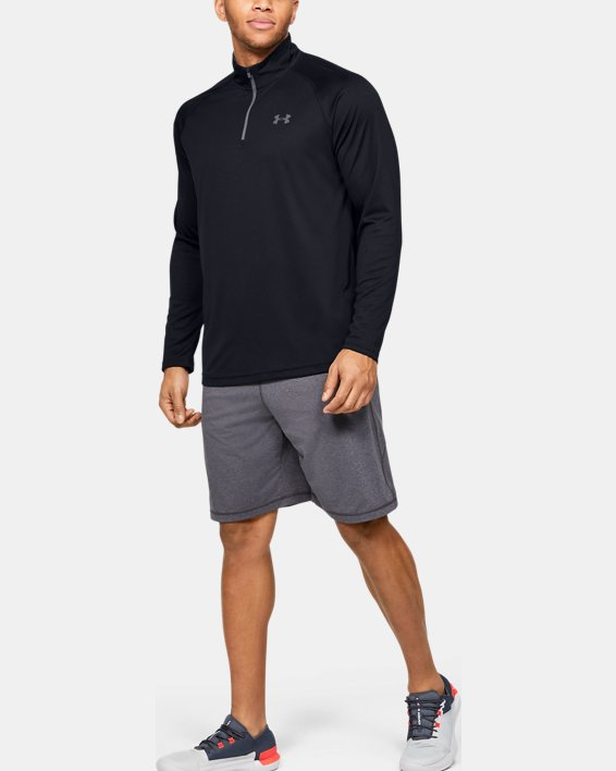 Men's UA Velocity 2.0 ¼ Zip, Black, pdpMainDesktop image number 1