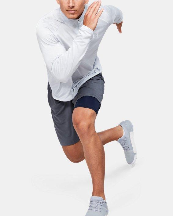 Men's HeatGear® Armour Shorts, Navy, pdpMainDesktop image number 1