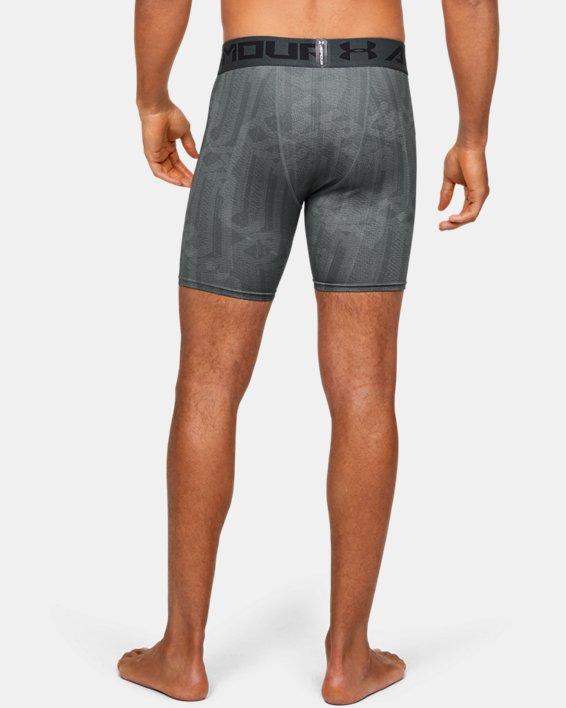 Men's HeatGear® Armour Shorts, Gray, pdpMainDesktop image number 2