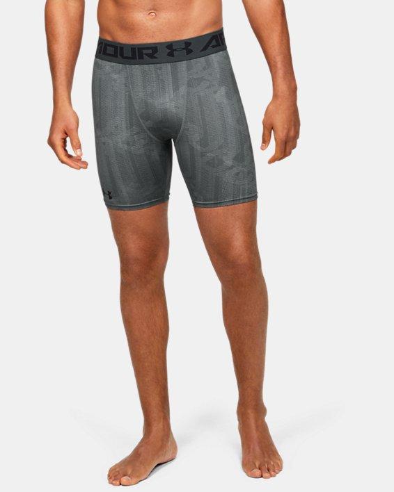 Men's HeatGear® Armour Shorts, Gray, pdpMainDesktop image number 0