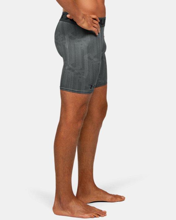 Men's HeatGear® Armour Shorts, Gray, pdpMainDesktop image number 3