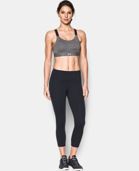 Women's Armour® Eclipse High Heathered Sports Bra  3 Colors $54.99