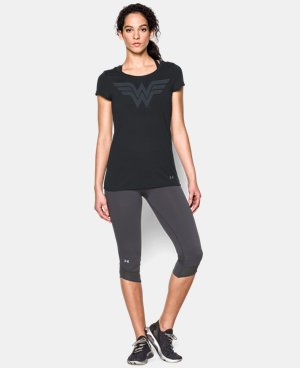 Women's Under Armour® Alter Ego Wonder Woman T-Shirt LIMITED TIME: FREE U.S. SHIPPING 2 Colors $34.99