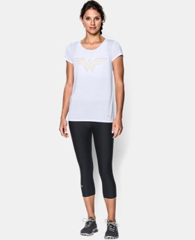 Women's Under Armour® Alter Ego Wonder Woman T-Shirt LIMITED TIME: FREE U.S. SHIPPING 1 Color $34.99