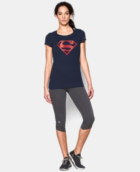 Women's Under Armour® Alter Ego Superman T-Shirt  1 Color $34.99