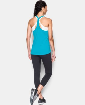 Women's UA HeatGear® Armour CoolSwitch Tank   $39.99