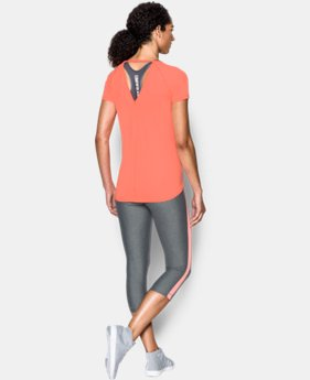 Women's UA CoolSwitch Short Sleeve Shirt  1 Color $34.99