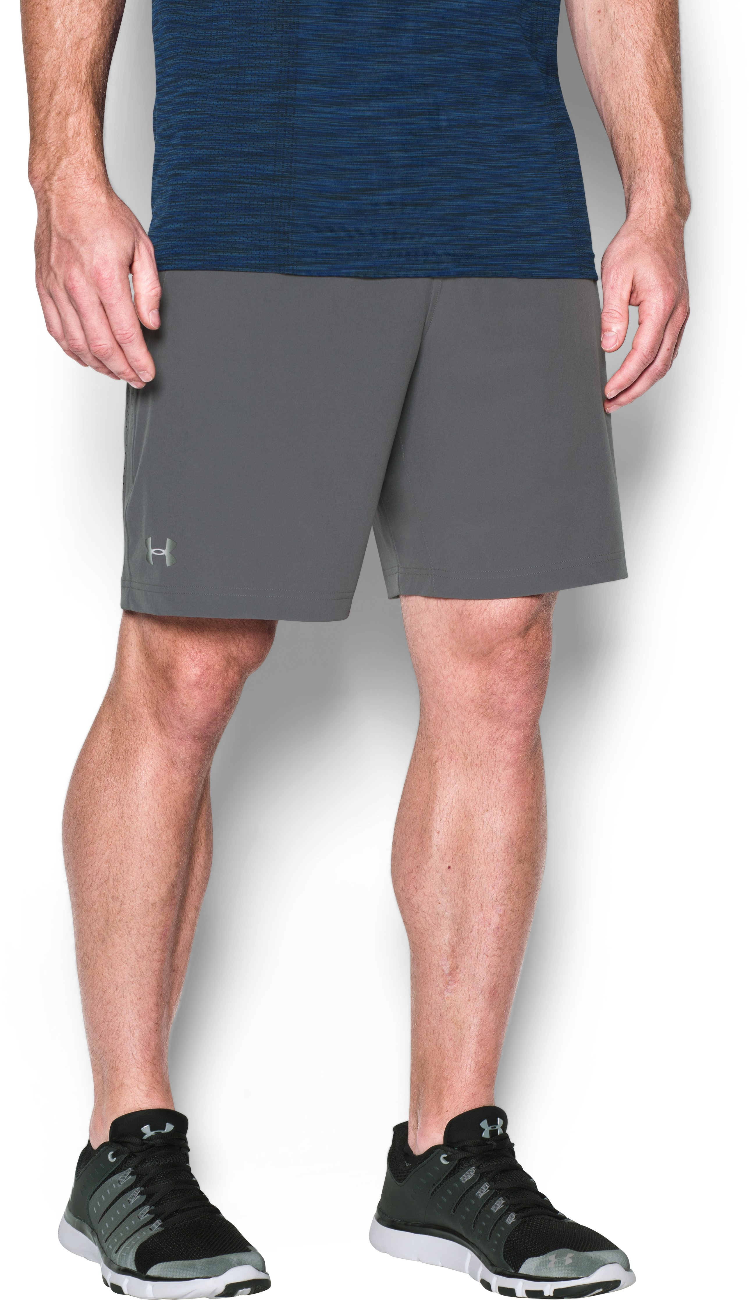 Men's UA Storm Vortex Shorts, Graphite