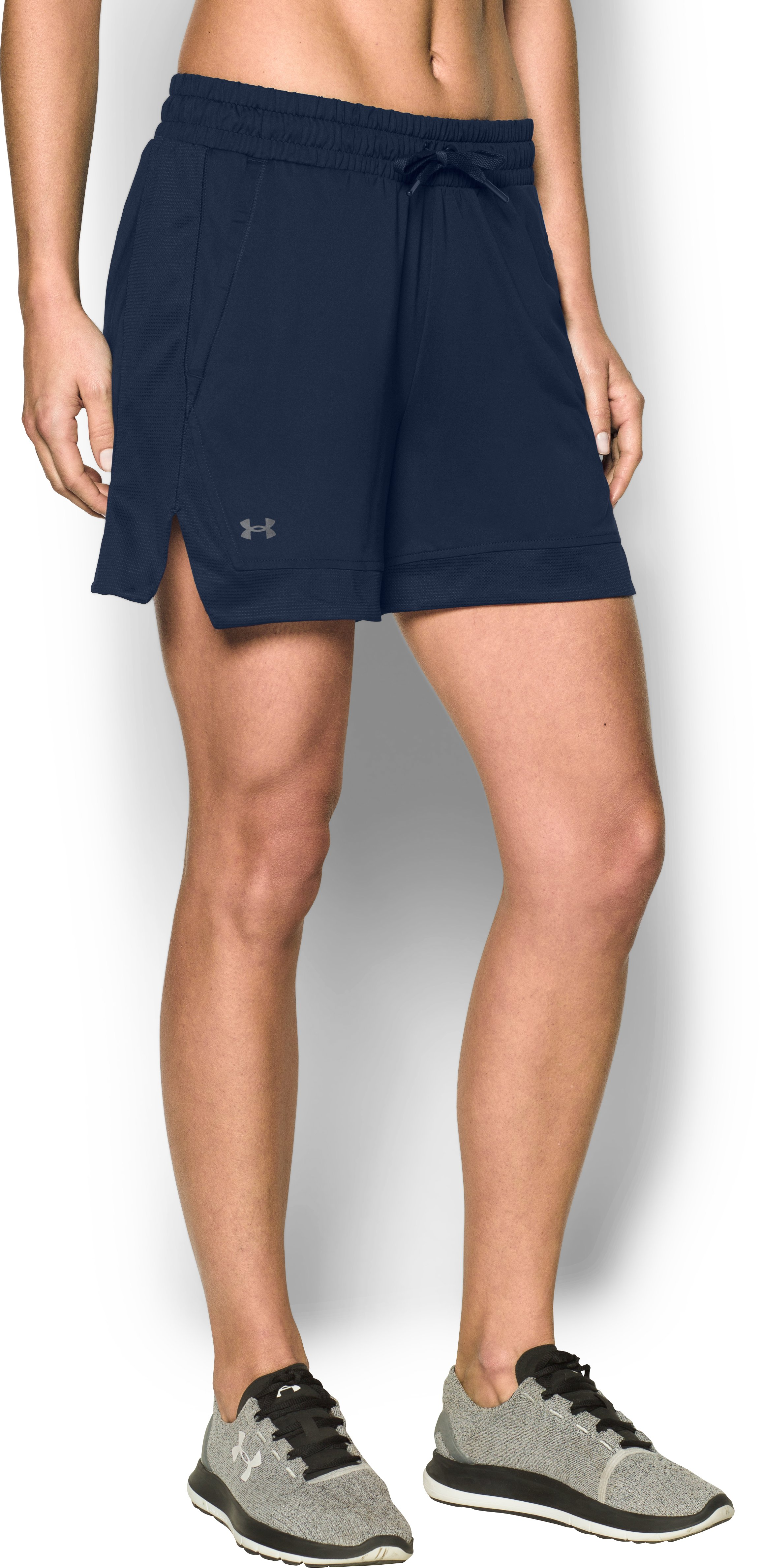 Women's UA Got Game Shorts, Midnight Navy