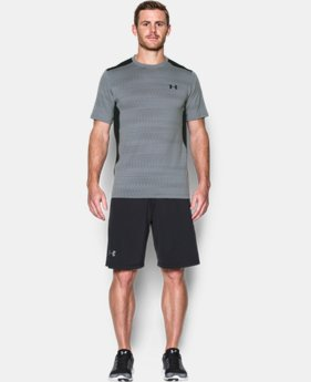 New Arrival Men's UA Raid Jacquard T-Shirt   2 Colors $29.99