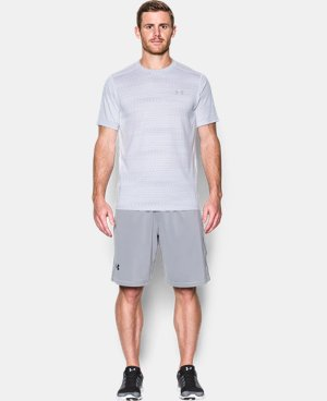 New Arrival Men's UA Raid Jacquard T-Shirt   1 Color $29.99