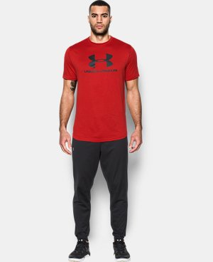 New Arrival Men's UA Sportstyle Branded T-Shirt  1 Color $29.99