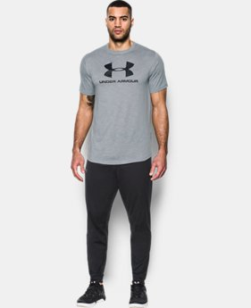 Men's UA Sportstyle Branded T-Shirt  1 Color $15.74 to $17.24